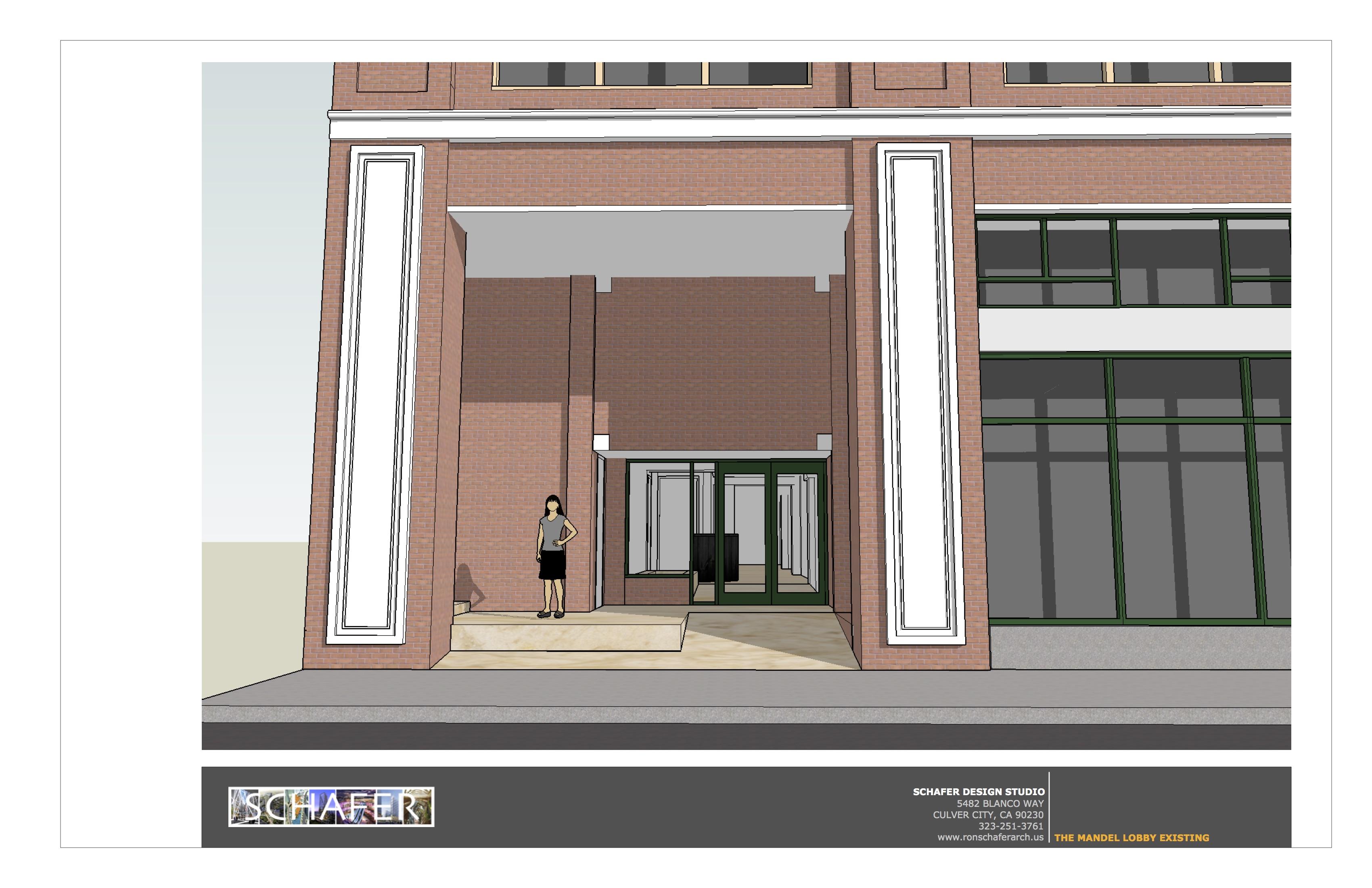 existing facade perspective