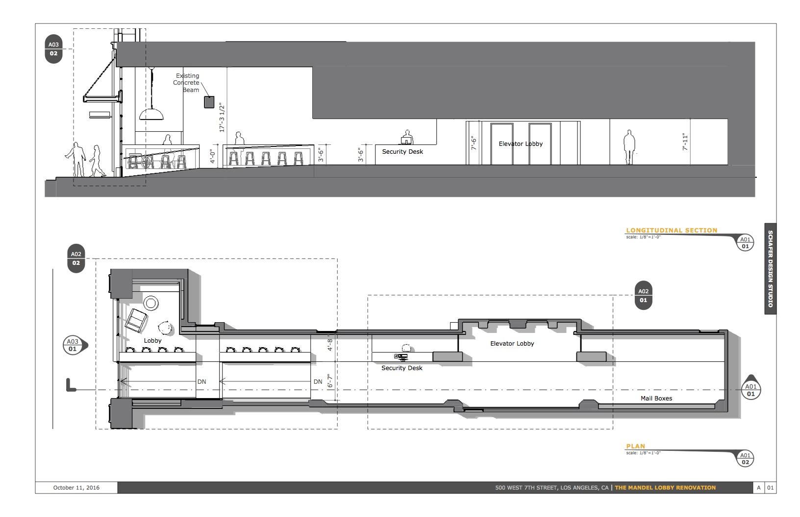 Floor Plan - Section B-W
