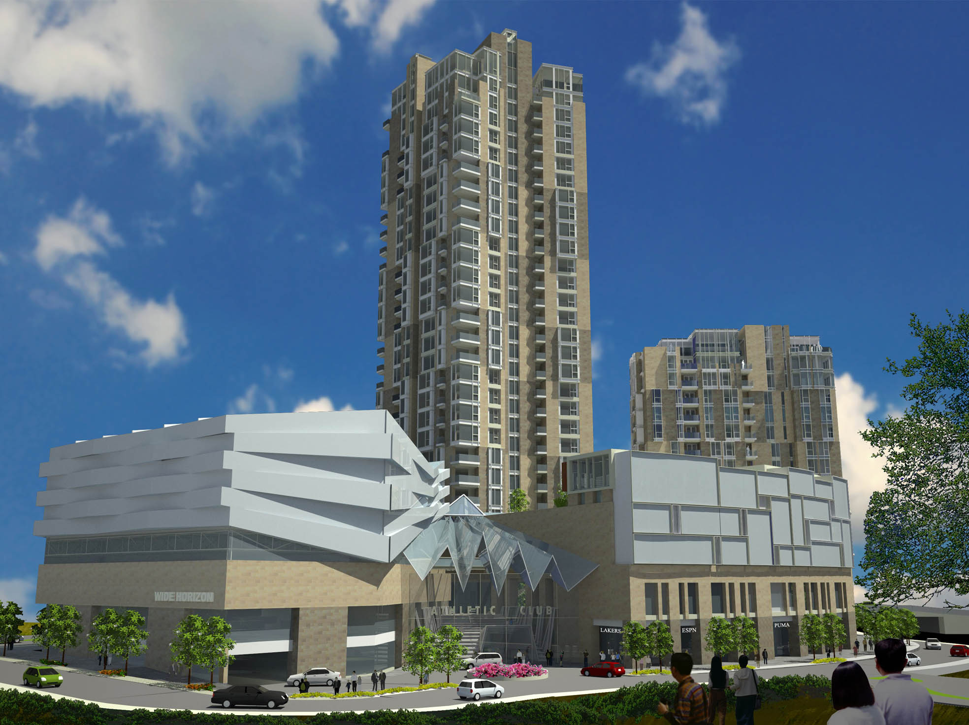 Street Level View of Site G