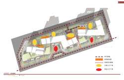 Site Plan with Spacial Descriptions