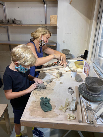 親子陶瓷班