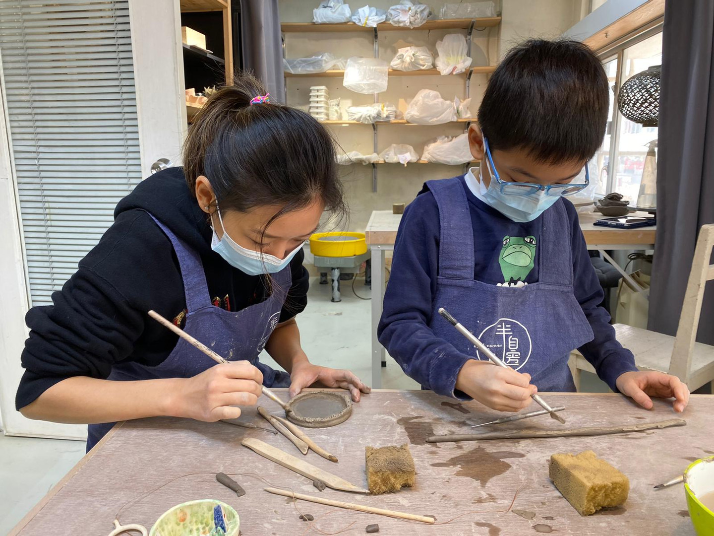親子陶瓷班.