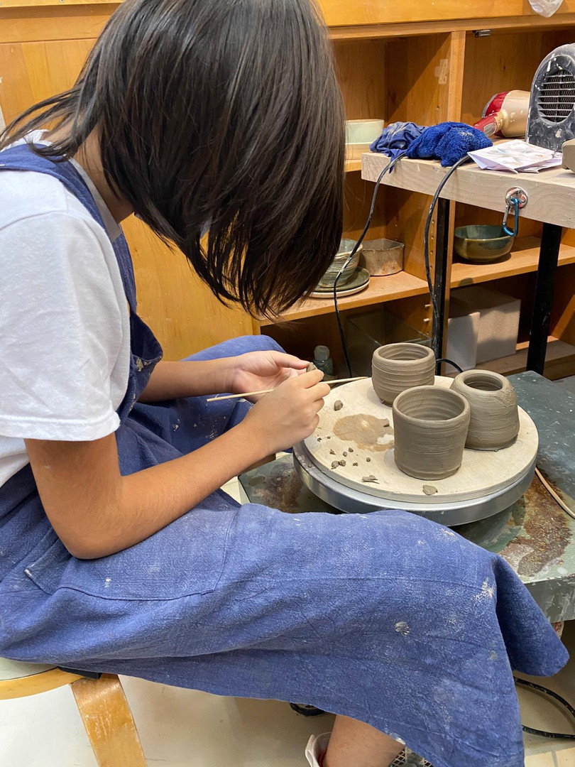 Kids Pottery Class (Level 3)