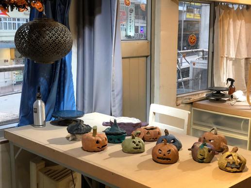 Halloween Pumpkin Lantern workshop 8