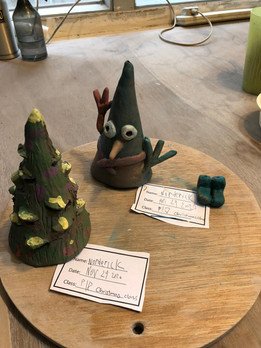 Christmas Jingle Bell : Candle Stand pot