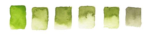Watercolour mixing hue tutorial