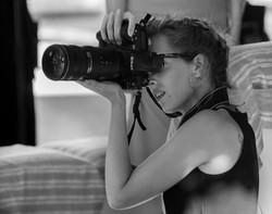 Laura con Nikon