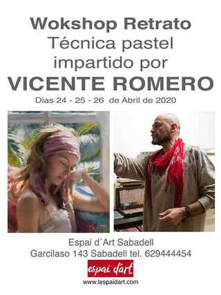 WORKSHOP amb Vicente Romero