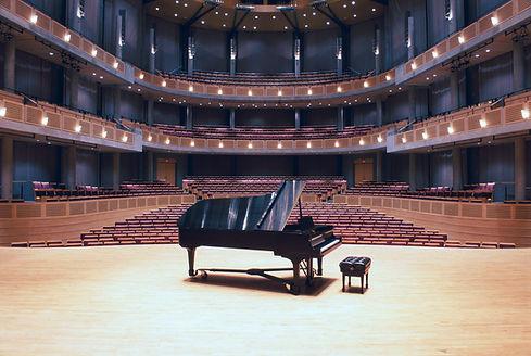 Sala de conciertos de piano