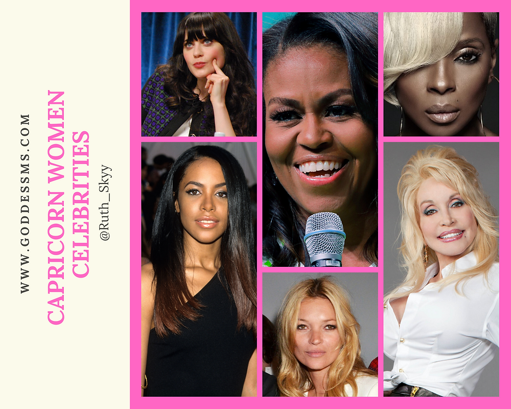 Celebrity Capricorn Women