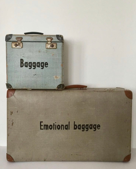 emotional baggage bag lady