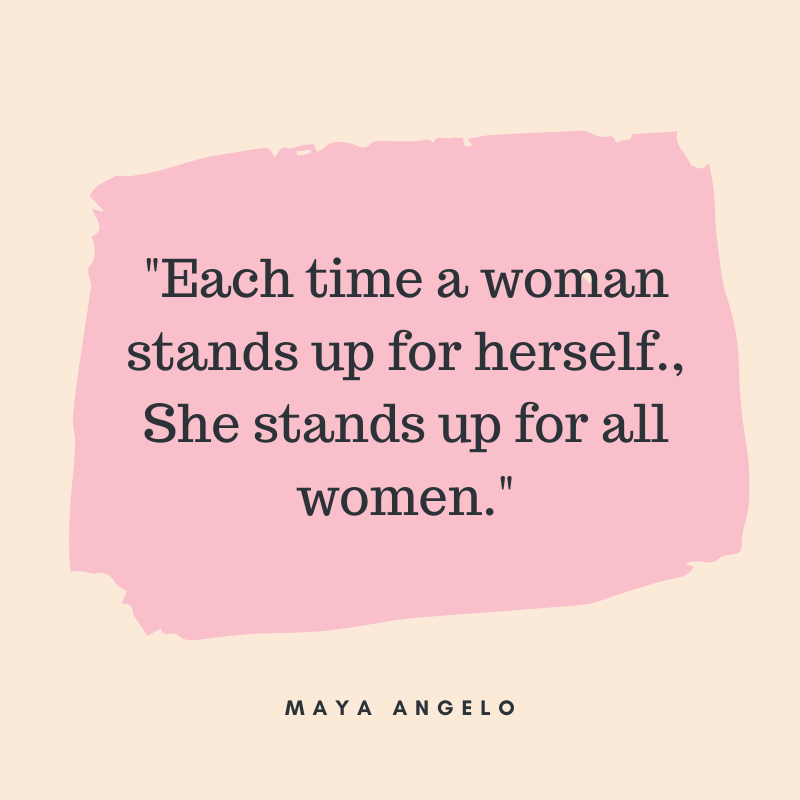 strong women quotes maya angelo
