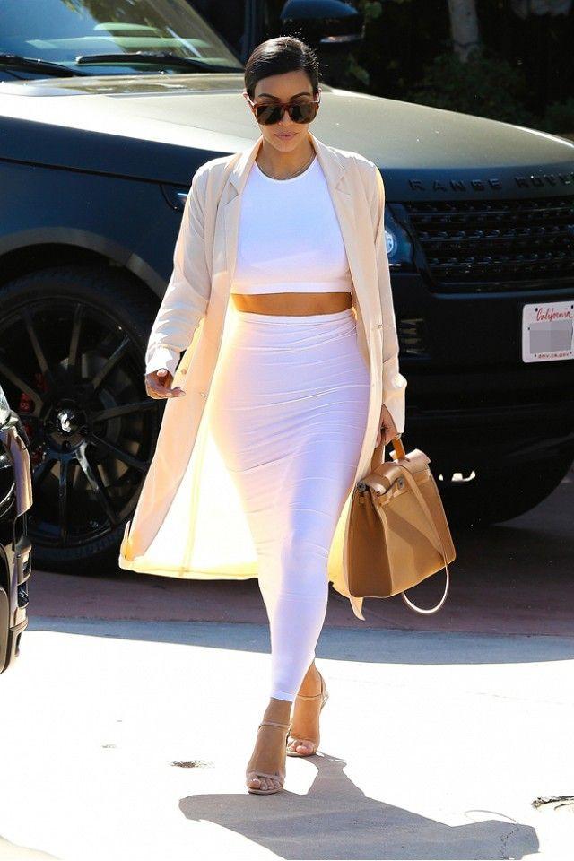kim kardashian minimalistic style