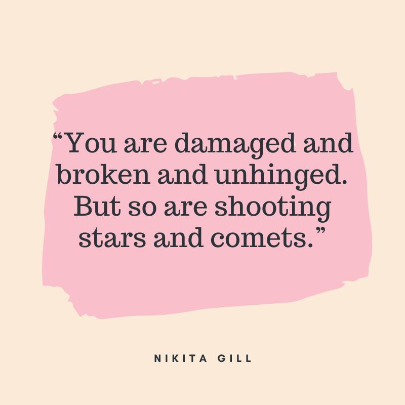 strong women quotes nikita gill