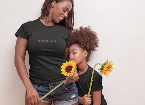 Goddess Vibes Black T-Shirt