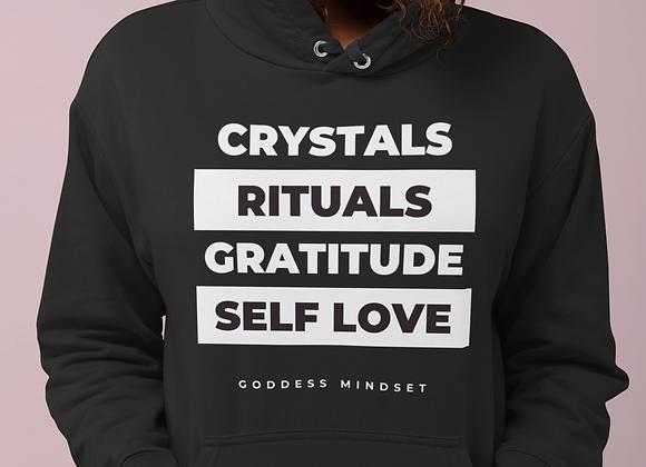 Goddess Essentials Black Pullover Hoodie