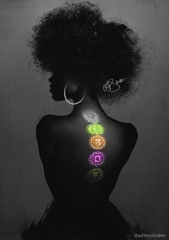 Black Goddess Chakra Healing