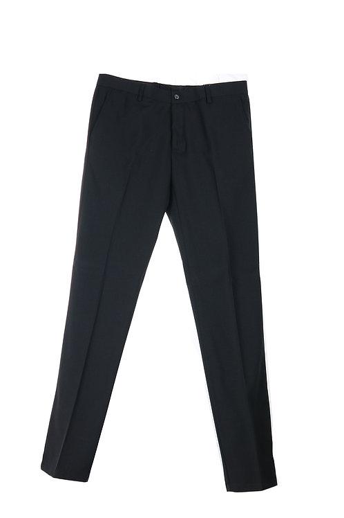 Pantalone Misto Poliestere Nero | Riccardo Chieruzzi