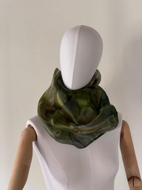 Necklace Silk Organza   Adima-Stilla Vitale