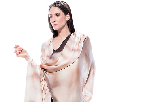 Manto Silk Charmeuse   Adima-Luce Mariana