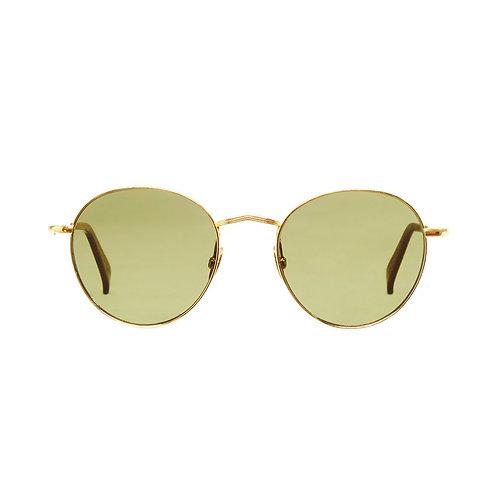 Vicuna Gold - Bottle Green | TBD Eyewear