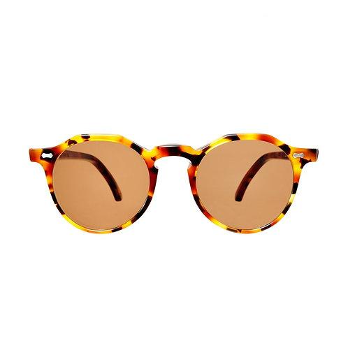 Lapel Amber Tortoise - Tobacco | TBD Eyewear