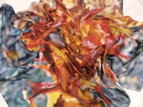 Manto Silk Charmeuse | Adima-Aceri
