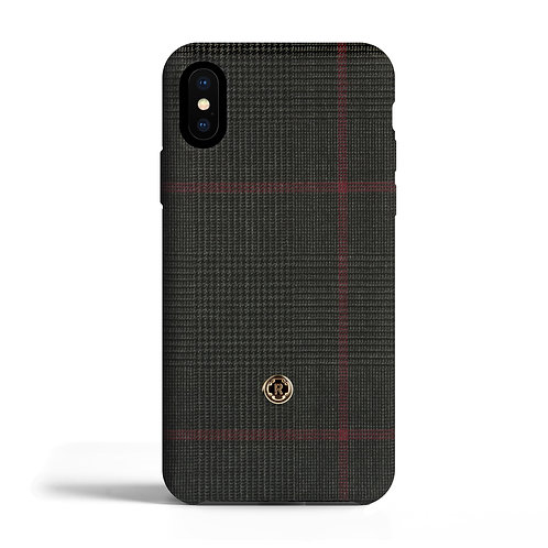 Cover per Iphone X - Prince of Wales - Ametista    Revested
