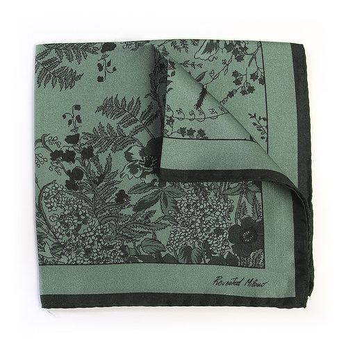 Pocket Square - Jardin - Sage | Revested