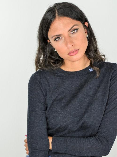 Maglione Donna Blu Indaco | Fortunale