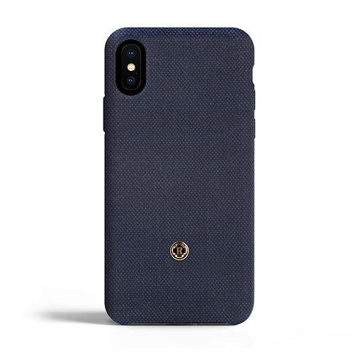 Cover per Iphone X - Bird's eye - Blu di Prussia  | Revested