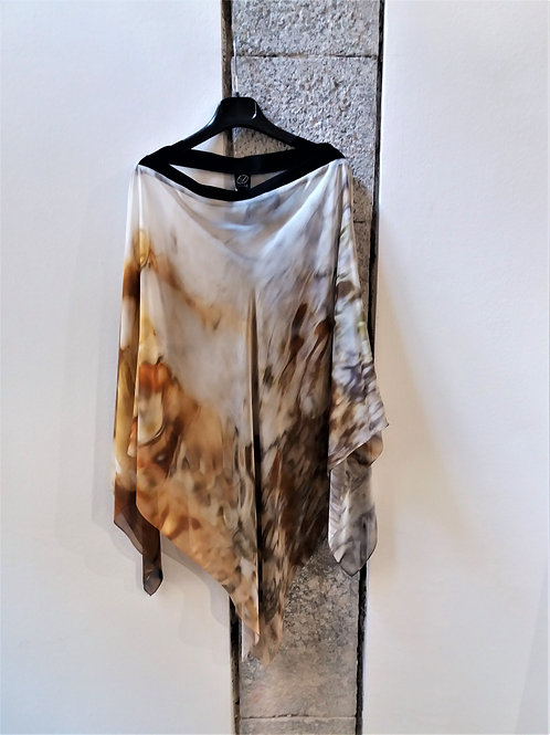 Poncho Silk Chiffon | Adima-Risvegli a Vaucluse