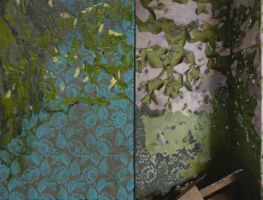 Naomi Safran-Hon | Wadi Salib: Green Corner in Three Parts | 2015