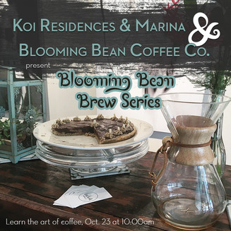 Koi Residences & Marina—Blooming Bean Brew Series