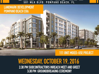 Another project coming to Pompano Beach!