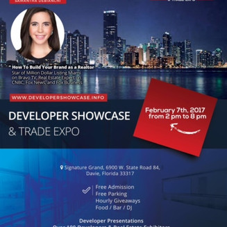 IGR invites you to join us at the Developer Showcase and Trade Expo, Feb 7th