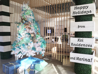 Happy Holidays from Koi Residences & Marina