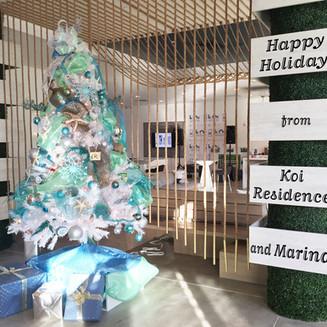 Happy Holidays from Koi Residences & Marina