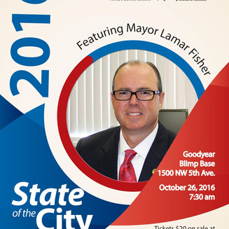 Koi attends Pompano Beach State of the City Address