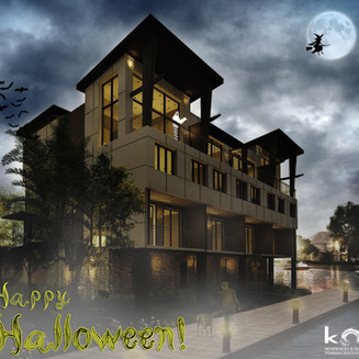 Koi wishes everyone a Happy Halloween!