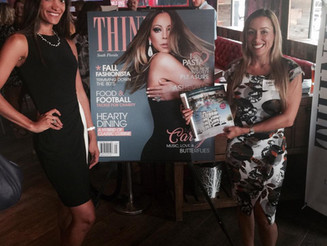 Invesca Group Realty girls welcoming September at the THINK magazine launch event!