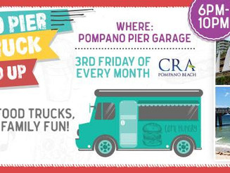 Pompano Pier Food Truck Round Up