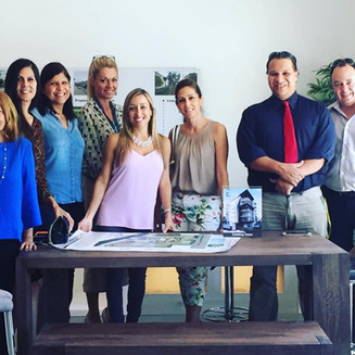 The Agent Plus Realty team visits Koi!