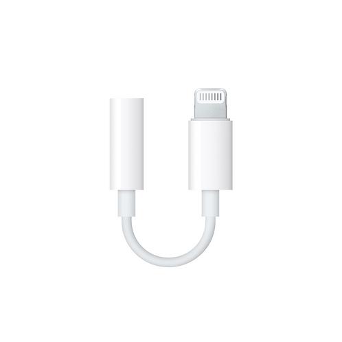 Originele  Apple Lightning naar 3.5 mm Headphone Jack Adapter