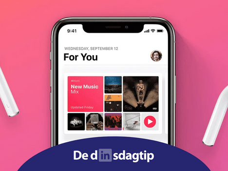Dinsdagtip: 5 maanden gratis Apple Music (t.w.v. €49,95)