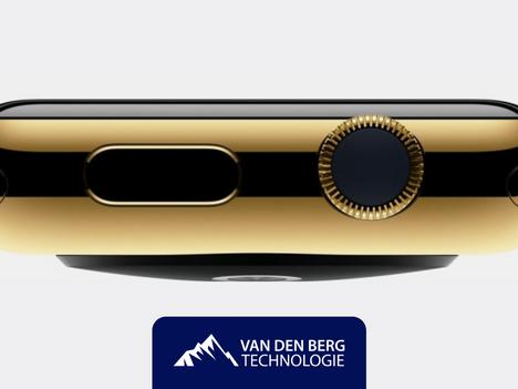 Gouden Apple Watch? We zullen 't even uitleggen.