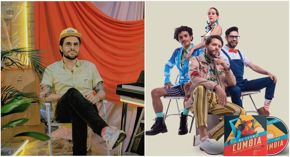 Puerto candealria y Juan Pablo Vega, artistas Primavera Fest nominados a Latin Grammy 2019