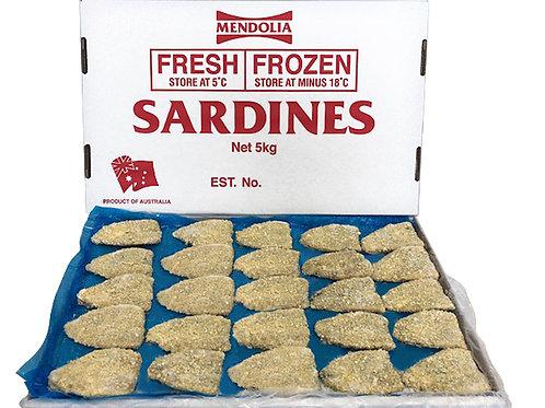 Australian Crumbed Sardines 5kg