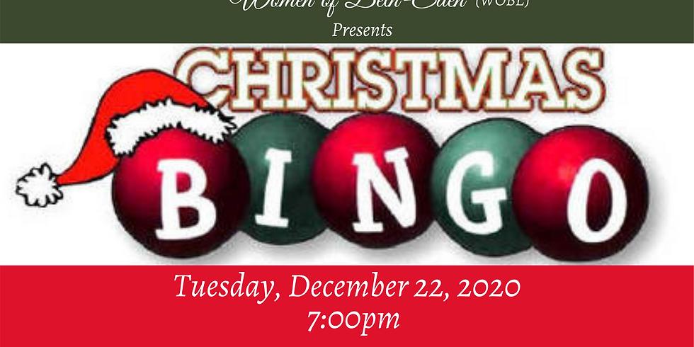 WOBE Christmas Bingo