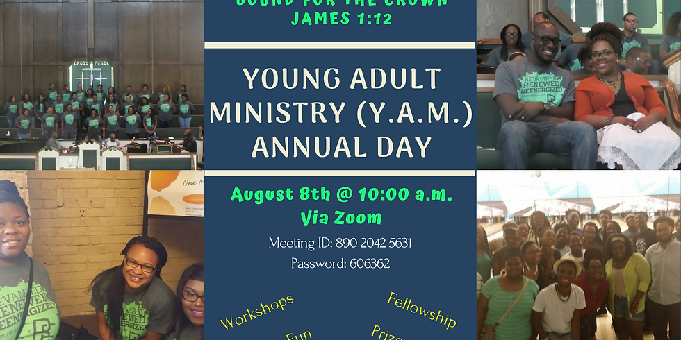 Annual Young Adult Ministry Weekend